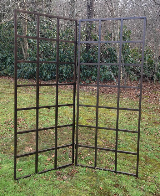 Free Standing Trellis Ideas Part - 18: Grid Trellisu0027 Can Be Configured To Fold Or Stand On A Patio Hooked Together  For Support.