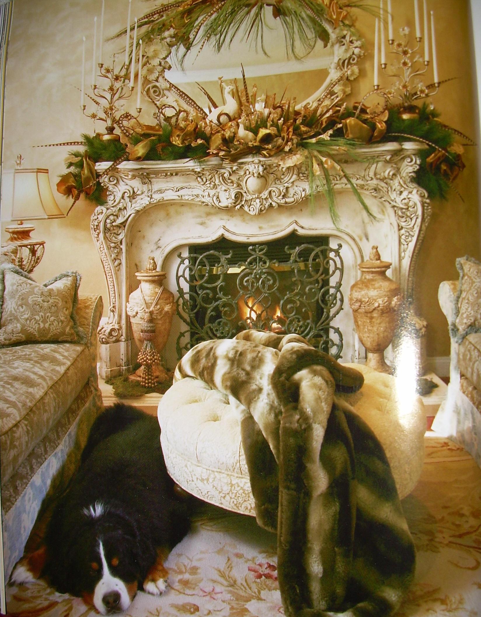 Pontalba Fireplace Screen