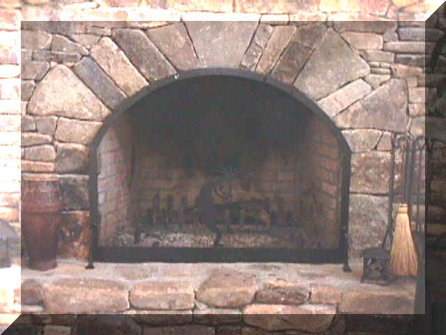 Kokopelli and Custom Fireplace Screens. Mvc-023f.jpg (54008 bytes) ... - Kokopelli Fireplace Screen