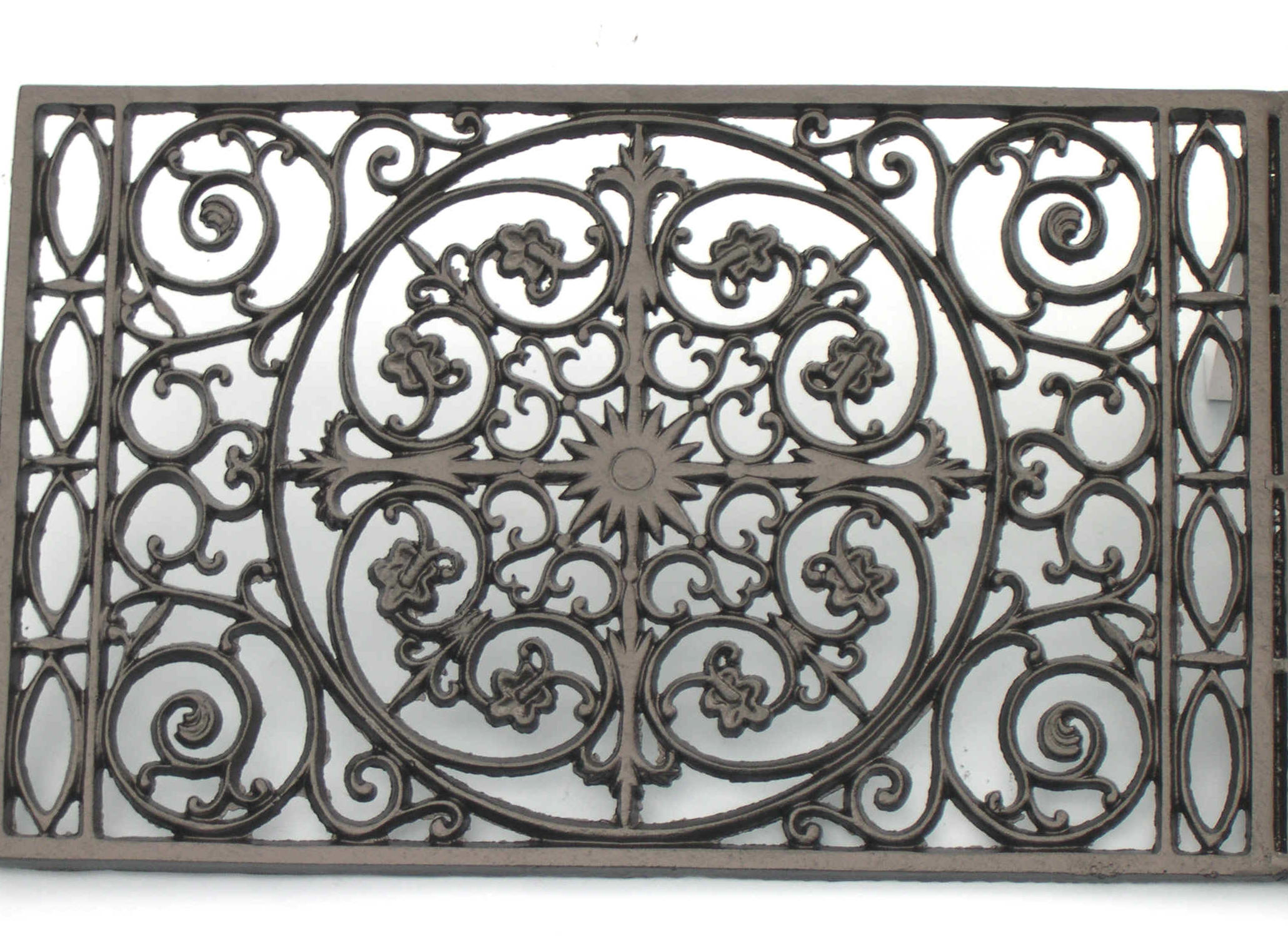 Cast iron front door