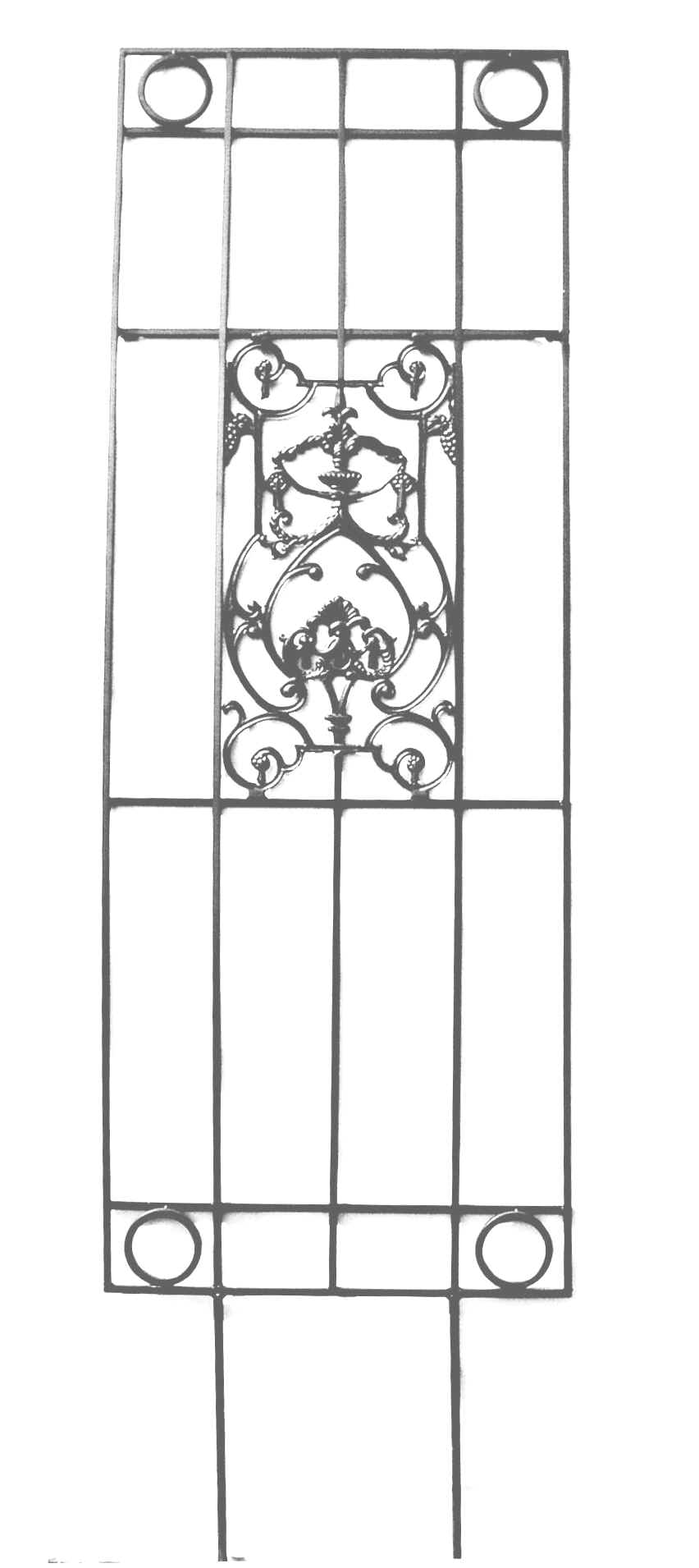 Trellis wrought iron